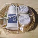 Cosulet cadou cu produse cosmetice naturale