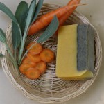 Sapun natural cu morcov, salvie si geraniu